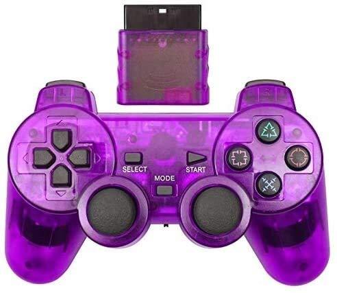 Dujie Mango Gamepad Moblie Juego Mando inalámbrico de PS3 Gamepad for Playstation3 Seis Ejes inalámbrico PS3 Palanca de Mando QPLNTCQ (Color: Azul Claro, Tamaño: 1) ( Color : Purple , Size : 1 )
