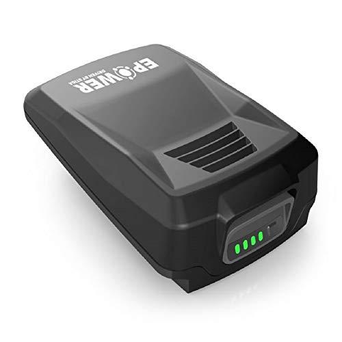 Alpina Batería E-Power B 22 de iones de litio de 20 V, Capacidad de batería 2 Ah, Compatible con todas las herramientas manuales y cortacéspedes Alpina de 20 V, Indicador LED de carga de la batería