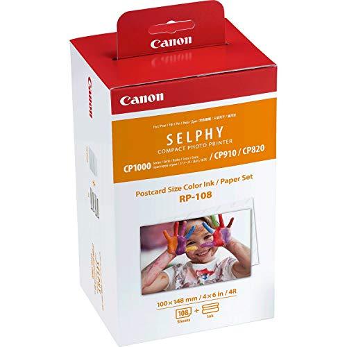 Canon RP-108 + Papier 100x148mm Tinte