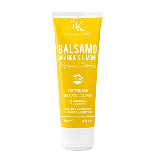 Balsamo Capelli Bio Arancio e Limone 250 ml - Alkemilla
