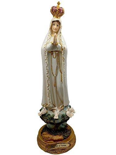 """Nuestra Señora de Fátima 12""""católica Estatua retratar la Virgen María Bendecido Madre"""