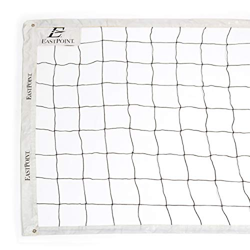 EastPoint Sports Replacement Volleyball Net with High Strength Cable, Reinforced Side Tapes, and Weather Resistant Material - Poles Not Included
