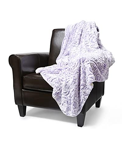 Regal Comfort Faux Fur Sherpa Throw Blanket - 50