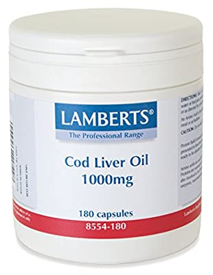 Lamberts - Cod Liver Oil 1000mg L