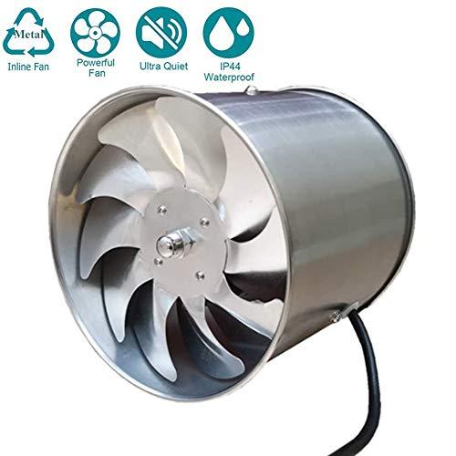 Aspiratore 145mm Estrazione Ventilazione Standard per Bagno Cucina Valvola di Non Ritorno Aspirazione Perimetrale, Protezione IPX4 Contro Spruzzi d`Acqua 850m³ / h