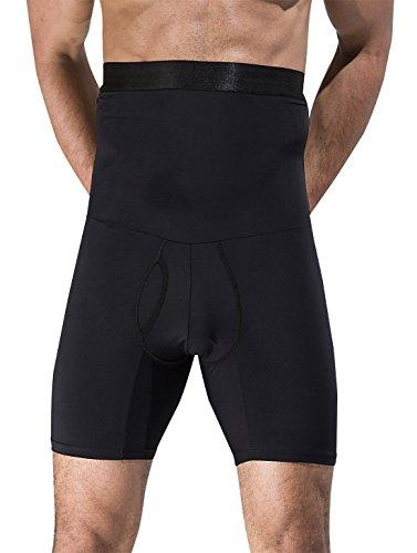 AIEOE - Ropa Interior Adelgazante para Hombre Moldeador Abdominal Slip Calzoncillos Adelgazantes Transpirable - Negro - Talla ES S ✅