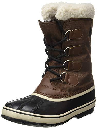 Sorel Men's 1964 PAC Nylon Boot - Waterproof - Cold Weather - Tobacco, Black - Size 11