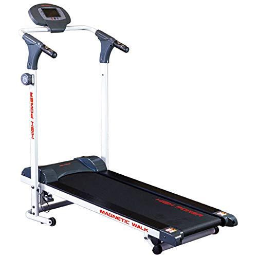 Magnetic Walk Tapis Roulant Magnetico per home-fitness, inclinazione manuale 3 livelli, nastro 35x105, portata 100 chilogrammi