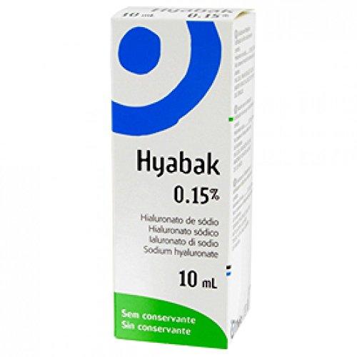 Hyabak Hyabak Protector Soluzione Oftalmica Sodio Ialuronato 0,15% Flacone - 10 ml