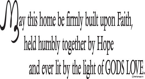Bible Verse Wall Decals May This Home Be Buy Online In Guam At Desertcart