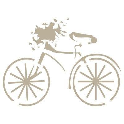 TODO-STENCIL Mini Deco Vintage Figura 048 Bicicleta. Medidas ...