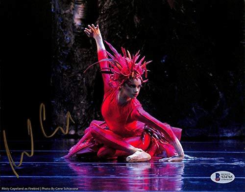 Misty Copeland Autographed Signed Ballet Dancer Authentic 8X10 Photo Autographed Beckett