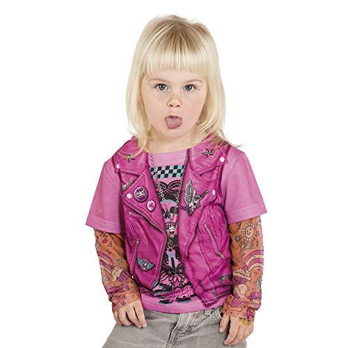 Limit Sport - shirt met tattoo mouwen voor meisjes (nc490)