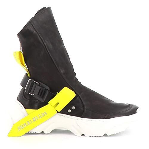 A.S.98 Sneaker Alta Monster A12202-201 Combi 2 Nero 38