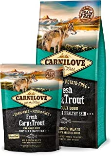 carnilove Fresh Carp and Trout, Dry food for dogs of 12 kg