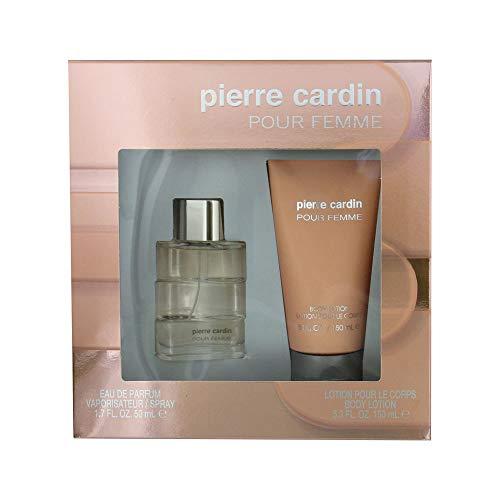 Pierre Cardin Coffret pour Femme Eau de Parfum 50 ml + Lait Corps 150 ml