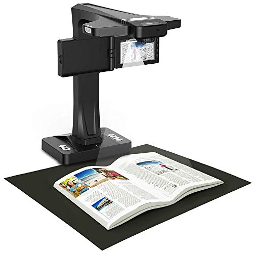 Great Deal! Scanners Smart Book Portable Document with 18 MP Camera,OCR. Auto Curve Flattening and F...