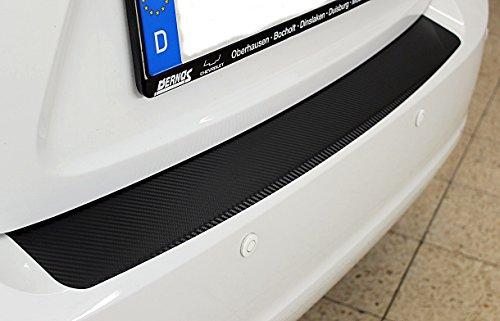 Preisvergleich Produktbild Ladekantenschutz Lackschutzfolie -Schutzfolie in Carbon-3D-Optik Carbonfolie 10056