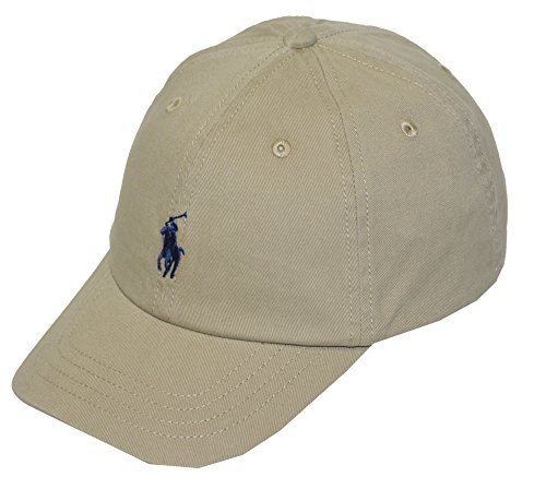 Polo Ralph Lauren Kids Baby Boy's Classic Cap (Toddler) Classic Khaki 2T-4T (Toddler)