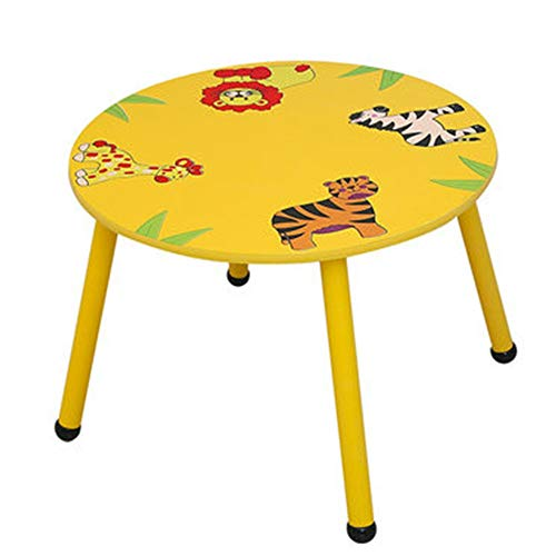 Studiotafel voor peuters, kinderbureau voor kinderen in de kleuterleeftijd en jongens en meisjes, activiteitsbuild & Play board, schattig kinderbureau met tekeningen Anim