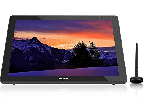 HUION 2020 Nuova tavoletta grafica KAMVAS 22 con schermo La più recente stilo senza batteria PW517 8192 Pressione della penna Supporto Android 120% sRGB Pellicola opaca antiriflesso - 21,5 pollici