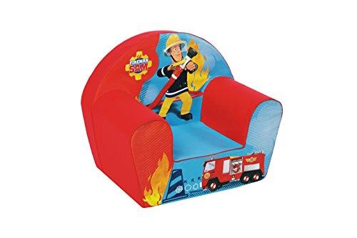 Nicotoy Paw Patrol Kinderstoel Sam de brandweerman. rood