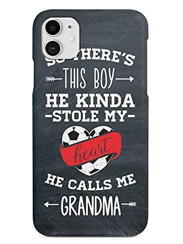 So There's This Boy-Soccer Player-Grandma Anti- Choques y Anti- Arañazos iPhone 12/11 Pro MAX 12 Mini SE X/XS MAX XR 8 7 6 6s Plus Funda Cajas del Teléfono