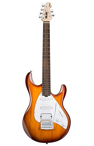 Sterling SILO 3-TBS/R de la guitarra eléctrica del respland