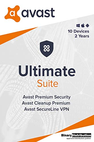 Avast Ultimate 2020 - 10 Devices - 2 Years
