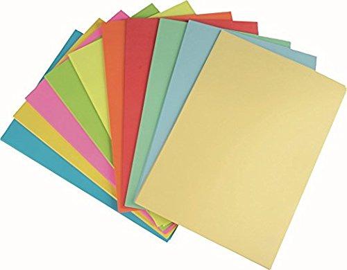 STYLEX Farbiges Papier, 500 Blatt blanko, A4 (500 Blatt, sortiert | blanko)