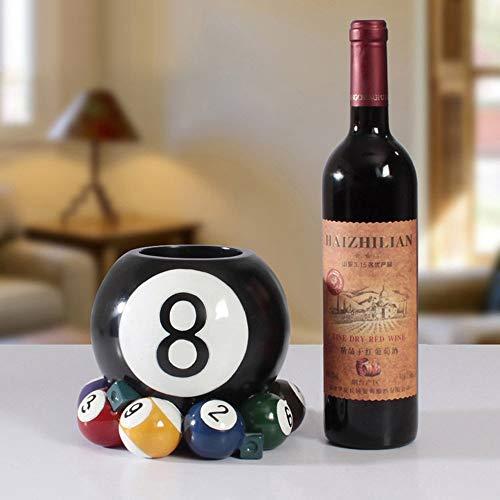 LXD Estanterías de Vino, Resina Billar Forma Creativa Personalidad Moda Mueble Decoración Sala de Estar Restaurante Cocina Casa Práctico