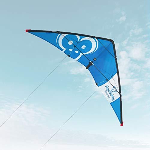 Skymonkey Cometa acrobatica Fastrider a Partir de 10, principantes, 127 cm, Azul