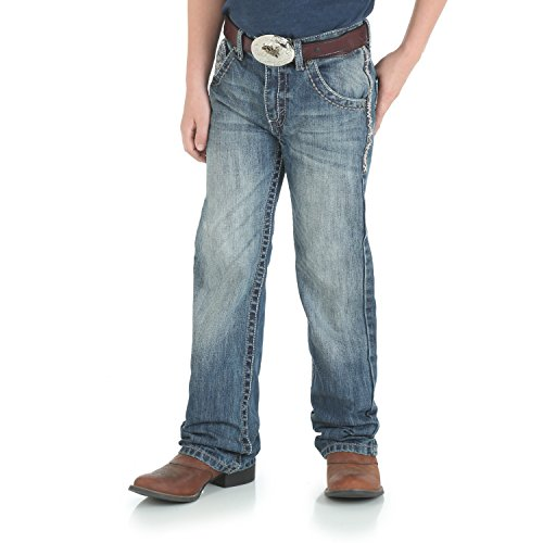 Wrangler Boys' 20X Vintage Boot Cut Jean Breaking Barriers 14 Reg