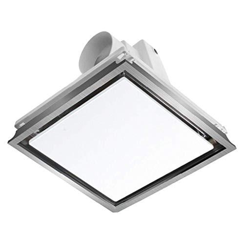 Salle de bains Hotte aspirante, cuisine Hotte aspirante Ventilation Éclairage LED en un for le volume d'air de plafond intégré: 150m3 / h Applicable Surface: 5-8m2 bruit: 37dB