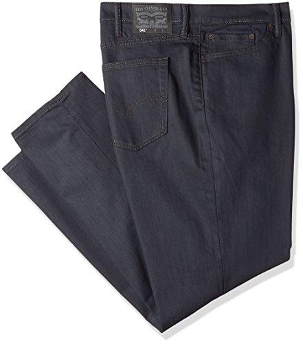 Levi's Herren Big & Tall 541 Athletic Fit Jeans, Stealth-Stretch, 42 W/34 L