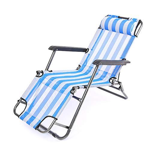 HUIFANG Multifunktionaler Verstellbarer Gestreifter Faltbarer Sessel Mit Doppeltem Verwendungszweck Atmungsaktiver Freizeitstuhl