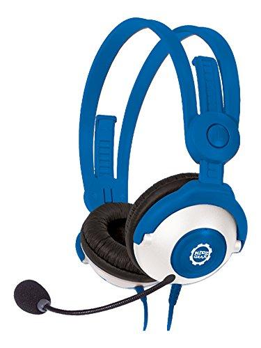 Kidz Gear Deluxe Headset Headphones with Boom Mic - Blue