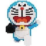 KGAYUC Bloques de construcción de cañón de Aire Doraemon, 3D Puzzle DIY Miniatura Miniatura Miniatura Pequeñas Partículas Bloques de construcción Juguete Adulto Montaje Puzzle, Regalo de cumpleaños