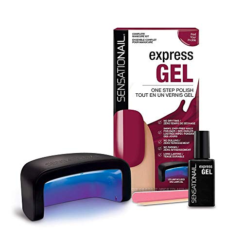 Sensationail Express Starter Kit - Red Your Profile