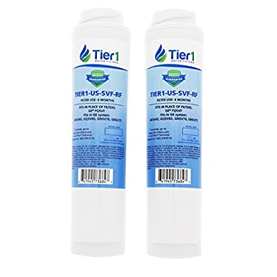 Tier1 Replacement for GE FQSVF Undersink Water Filter 2 Pack