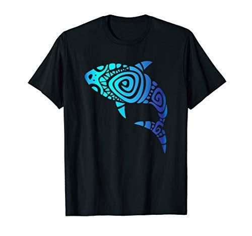 Hawaii Mano Tribal Shark Shirt. Shark Lover Week