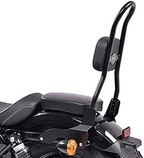 Sissy Bar con Portapacchi e kit di montaggio per Harley Davidson Sportster 883 04-10 cromo