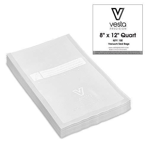 bolsa envasar al vacio comida de la marca V Vesta Precision