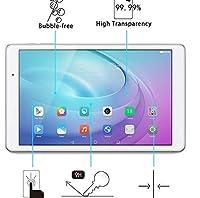 YCDZ STOREガラスフィルム 100 PCS Galaxy Tab A 7.0 (2016) T280 / T285用 0.26mm 9H表面硬度2.5D防爆型強化ガラススクリーンフィルム