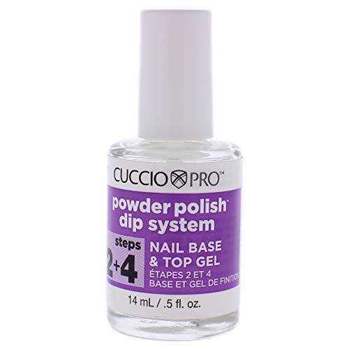 Cuccio Powder Polish Dip System Step 2 und 4 Nail Base and Top Gel
