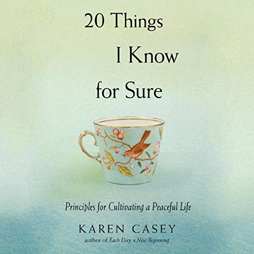 20 Things I Know for Sure audiobook cover art