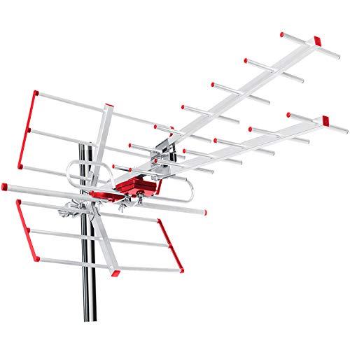 Antenna TV DVB-T DVB-T2 Antenna Full HD Max 100 dBμV UHF/VHF Filtro LTE (Passiva)
