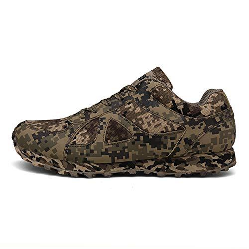 MH Zapatillas de Deporte para Hombres, Zapatillas de Camuflaje Zapatillas de Tenis para Hombres Zapatillas de Deporte para Caminar Calzado Deportivo Transpirable Talla Informal 39-47,Digital,36