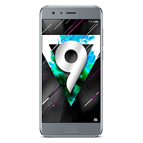 "Honor 9 4G Gray - Smartphones (13.1 cm (5.15 ""), 1920 pixels x 1080, 20 MP, Android, 7.0, Gray)"