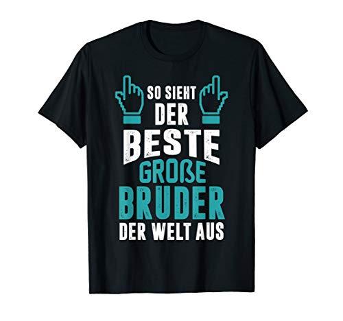 Bester große Bruder der Welt cooles Geschenk für Geschwister T-Shirt